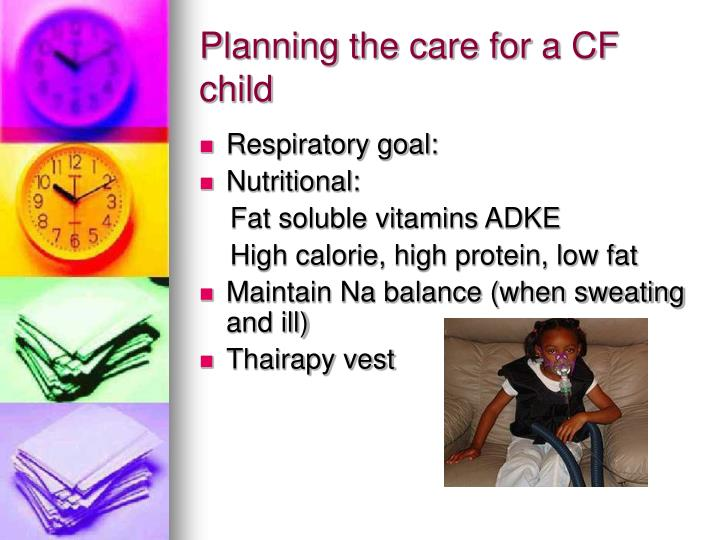 Planning the care for a CF child