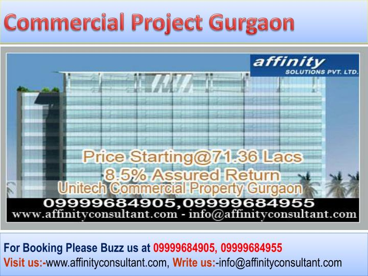 Commercial Project Gurgaon