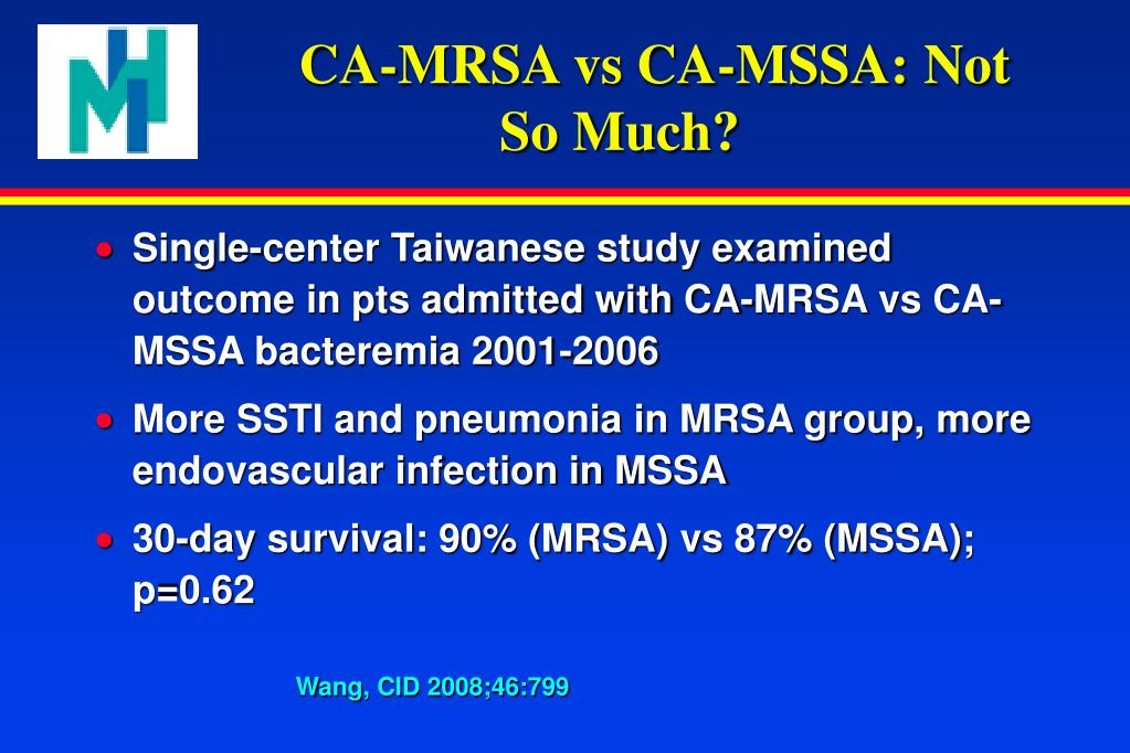 PPT - Resistant Organisms and Nosocomial Infections: MRSA