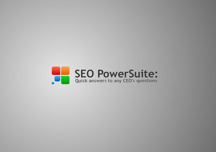 Seo powersuite quick answers to any ceo s questions
