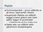 plat n1