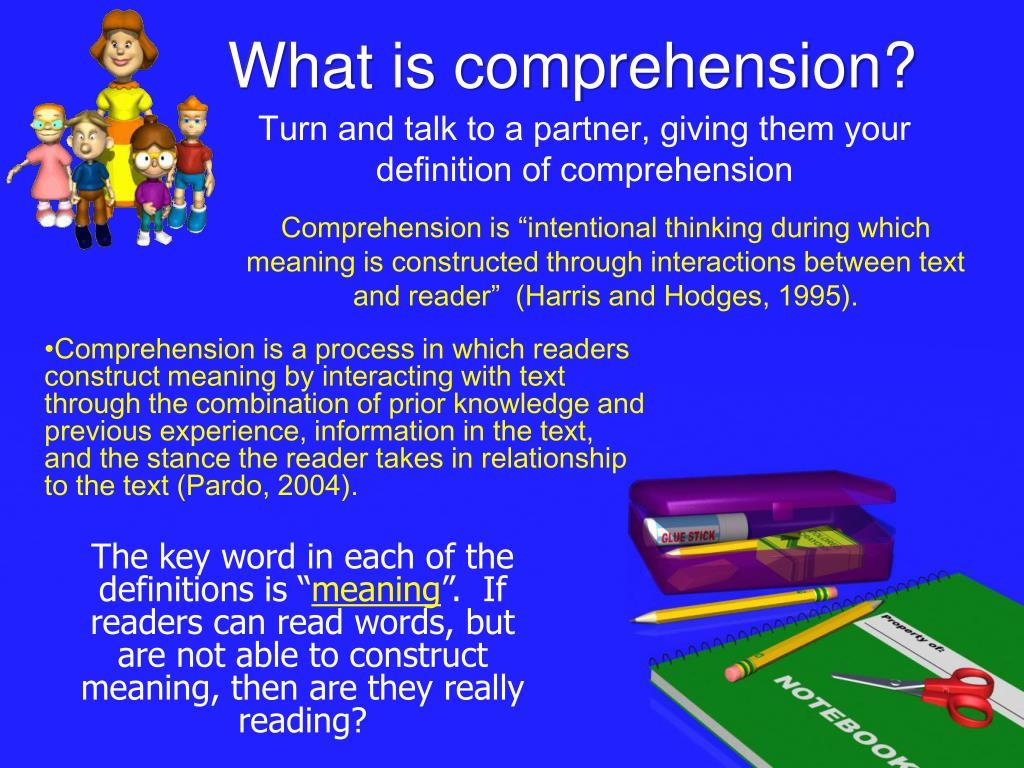 PPT - K-2 Comprehension Connection PowerPoint Presentation ...