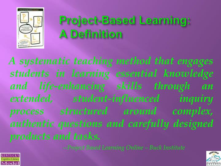Project-Based Learning: