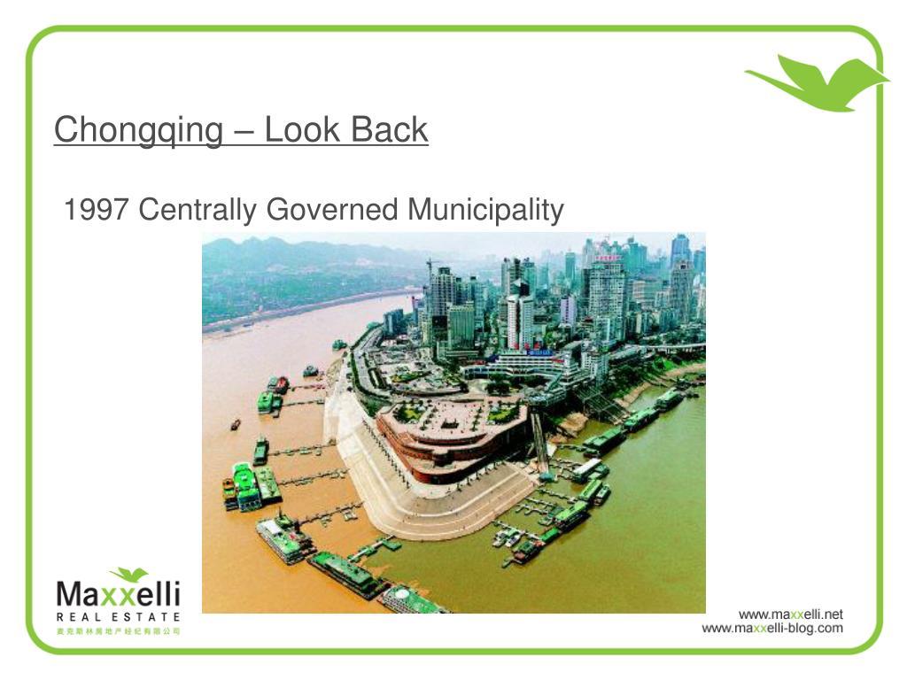 Chongqing – Look Back
