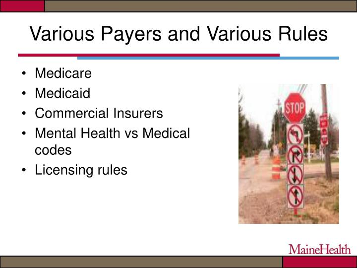 Various Payers and Various Rules