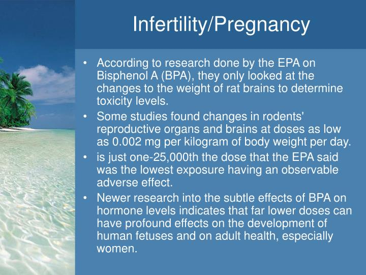 Infertility/Pregnancy