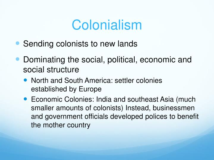 the social political and economical mistreatment of the colonists by the english government