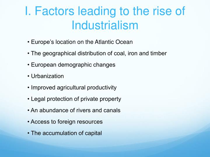 the rise of nationalism industrialism and Mr gouge's social studies website home industrialism learn about how these events caused the rise of european nationalism and eventually two world.
