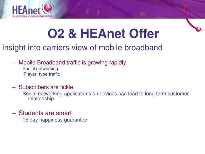 O2 & HEAnet Offer