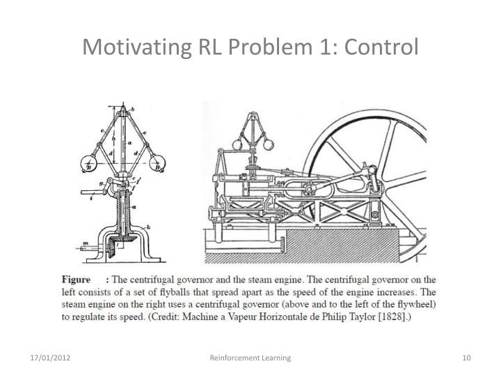 Motivating RL Problem 1: Control