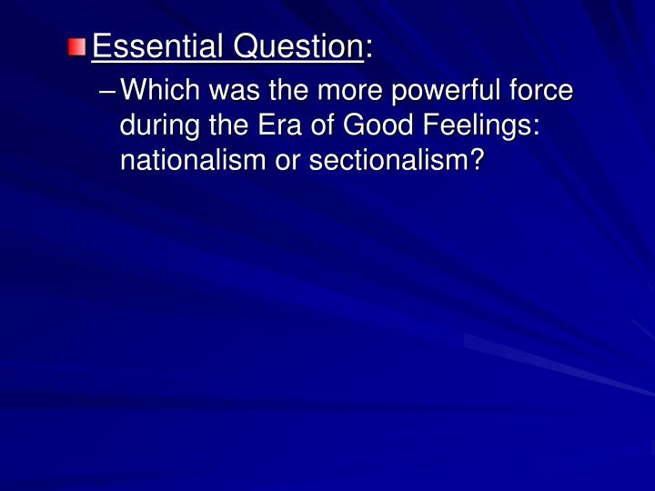 essential question thesis Essential questions: why are survival stories  -well constructed claim in the form of a thesis statement  the essential questions and enduring.