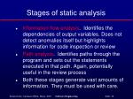 stages of static analysis1