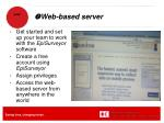 web based server1