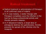 radical treatment