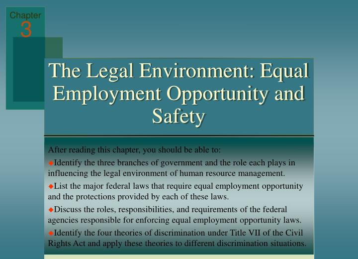 differences between equal opportunities managing diversity Equal employment opportunity is the foundation theory that unifies diversity and affirmative action efforts that everyone should have equal access to employment opportunities in the upcoming posts we will further discuss diversity, its management and its effects on business.