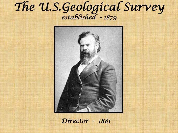 The U.S.Geological Survey