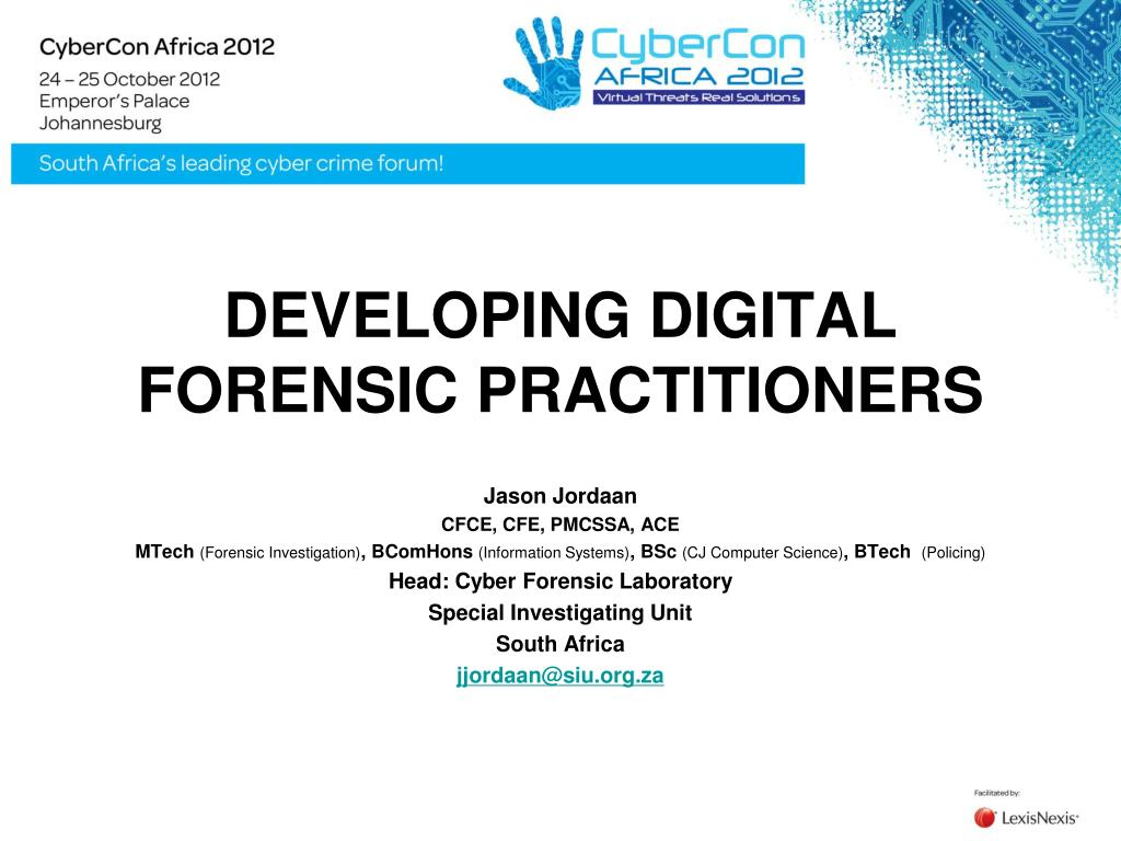 Ppt Developing Digital Forensic Practitioners Powerpoint