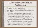 three tier client server architecture