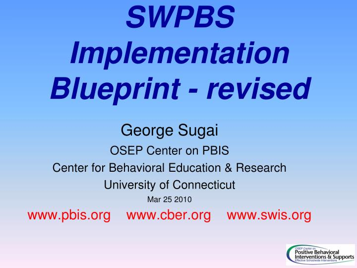 Ppt swpbs implementation blueprint revised powerpoint swpbs implementation blueprint revised malvernweather Image collections