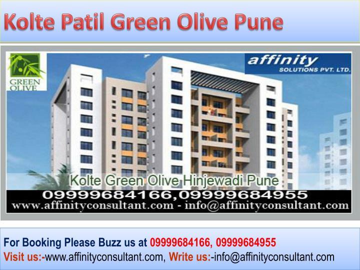 Kolte Patil Green Olive Pune