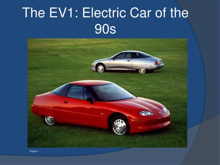 the ev1 electric car of the 90s n.