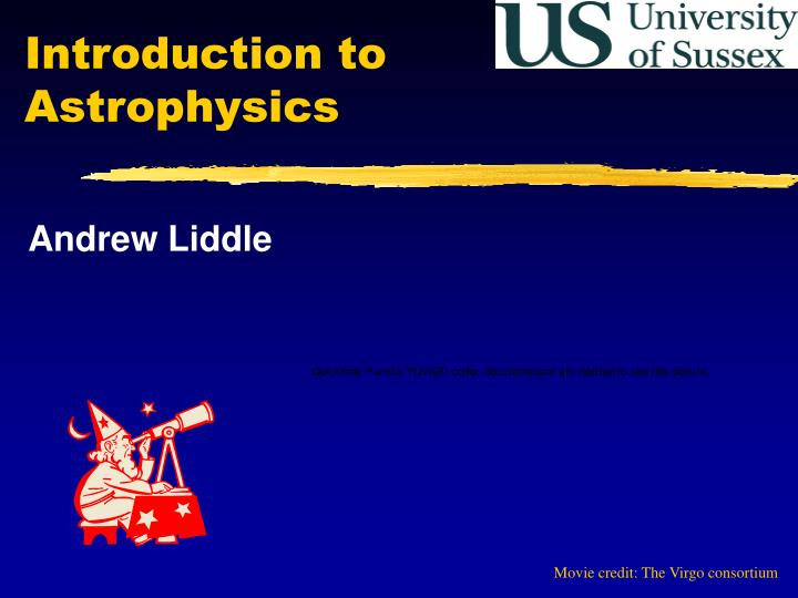 introduction to astrophysics n.