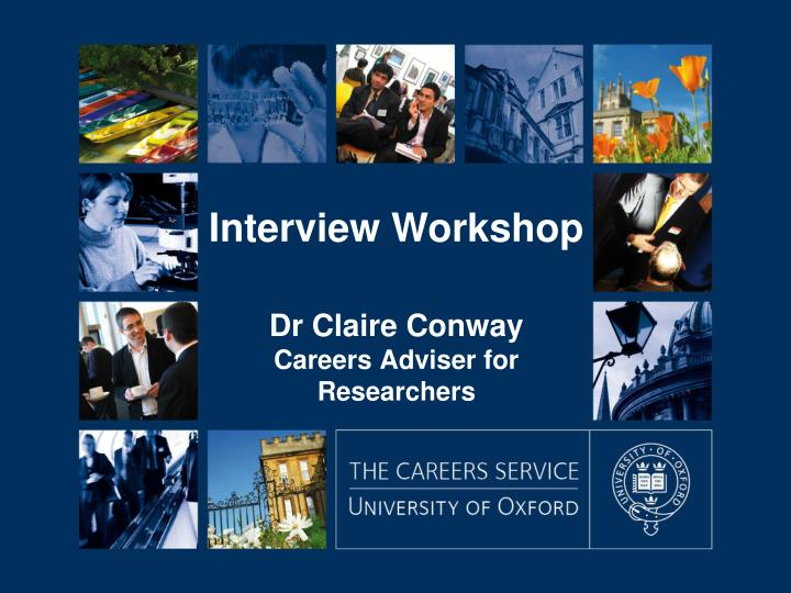 dr claire conway careers adviser for researchers n.