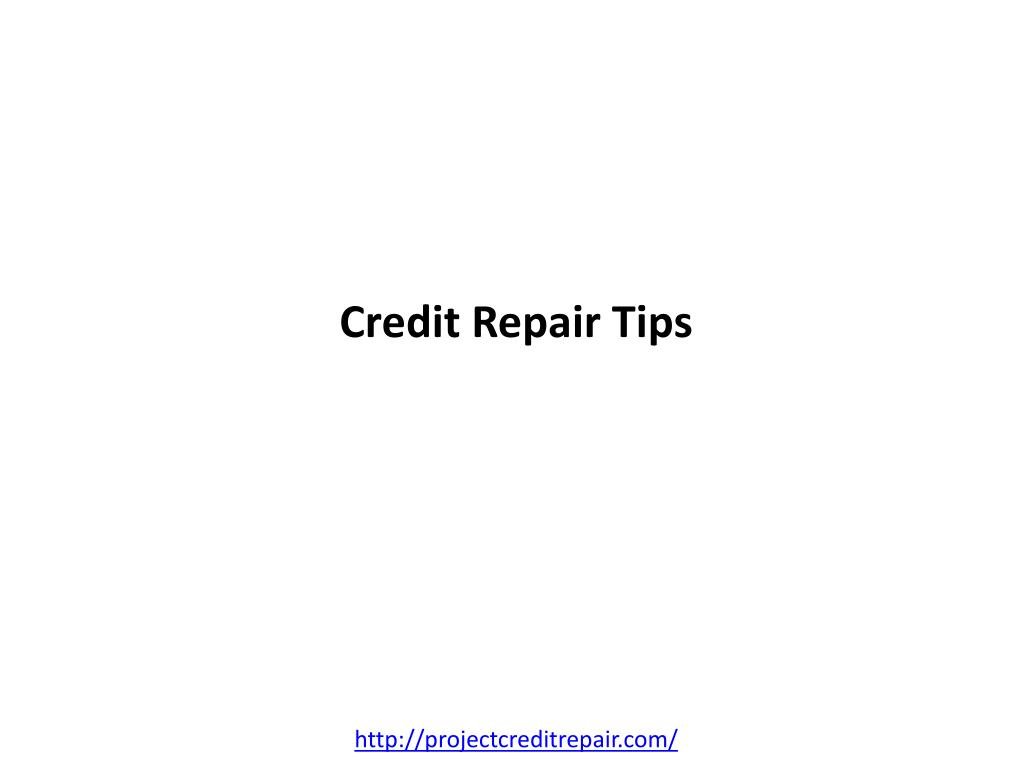 credit repair tips l.