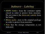 indinavir labeling