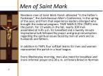 men of saint mark