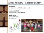 music ministry children s choir