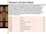 women of saint mark