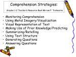 comprehension strategies grades 1 2 teacher s resource book miriam p trehearne
