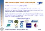 the infrastructure safety directive 8 8