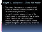dwight d eisenhower atoms for peace3