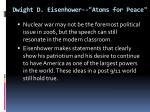 dwight d eisenhower atoms for peace5
