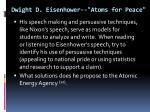 dwight d eisenhower atoms for peace6