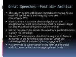 great speeches post war america2