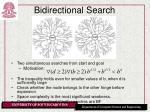 bidirectional search