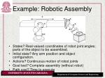 example robotic assembly1