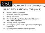 basic regulations itar cont1