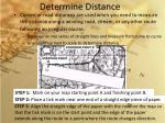 determine distance3