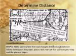determine distance4