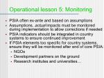 operational lesson 5 monitoring