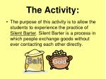 the activity