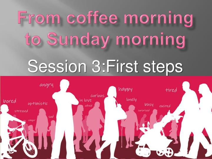 from coffee morning to sunday morning n.