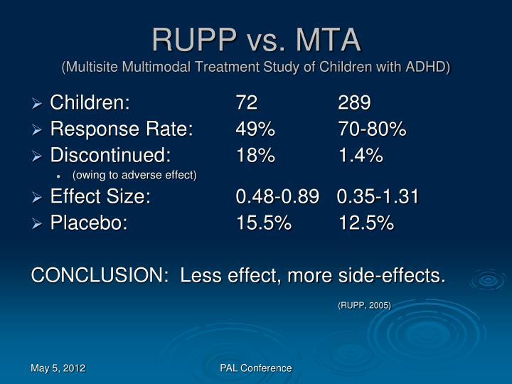 RUPP vs. MTA