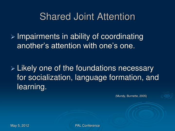 Shared Joint Attention