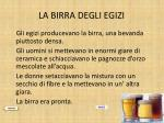la birra degli egizi