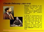 claude debussy 1862 1918